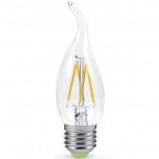 Лампа светодиодная  5Вт Е27 свеча на ветру
